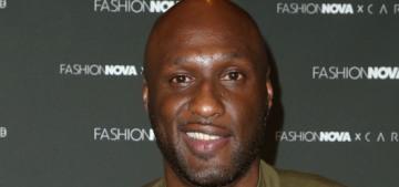 Lamar Odom dated Taraji P. Henson & they double-dated with Brangelina?!