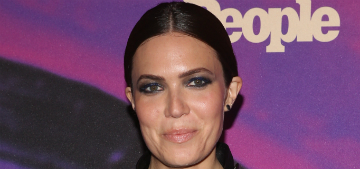 Mandy Moore reached base camp on Mount Everest