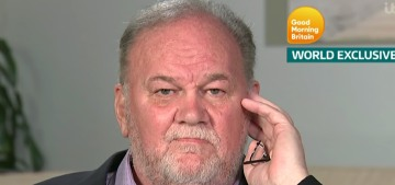 Thomas Markle has a beef with how Lifetime's latest movie portrayed his douchery