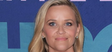 Reese Witherspoon in Elie Saab at the 'Big Little Lies 2′ premiere: cute & orange?