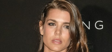 Charlotte Casiraghi wore a bow-happy Saint Laurent dress to her civil wedding