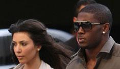 Kim Kardashian & Reggie Bush have split