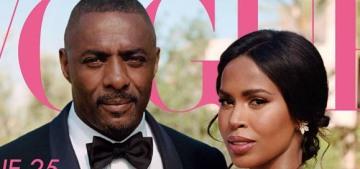 Idris Elba & Sabrina Dhowre's Moroccan wedding covers British Vogue