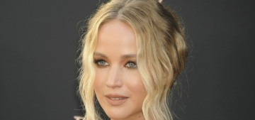 Jennifer Lawrence in Dior at the 'Dark Phoenix' premiere: she looks, um, different?