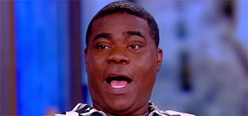 Tracy Morgan got into an accident in a $2 million Bugatti he just bought