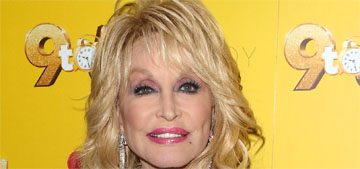 Dolly Parton: 'I leave my makeup on at night and clean my face in the morning'