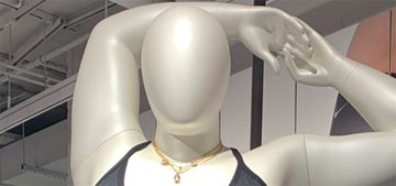 Nike is using curvy mannequins in their stores in London