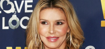 Brandi Glanville has a new French boyfriend, only she will just call him a 'man-toy'