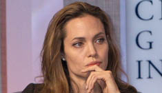 Angelina Jolie axed by clothing label, criticizes spending on Iraq war