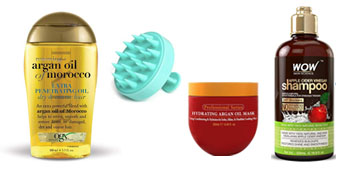 Haircare and treatments including bestselling anti-thinning and dry shampoos
