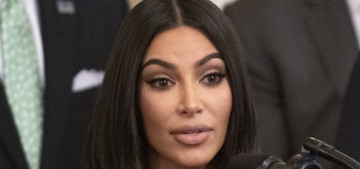 Kim Kardashian attends White House event for Second Chance Hiring & Re-entry