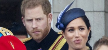 Did Prince Harry tell Duchess Meghan to 'turn around' at Trooping the Colour?