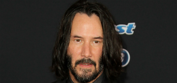 Keanu Reeves didn't know he was the internet's boyfriend: 'that's wacky'