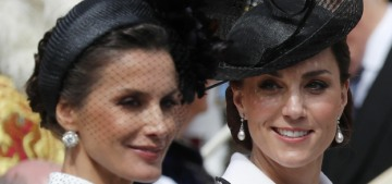 Duchess Kate in Catherine Walker for the Order of the Garter: twee & buttony?