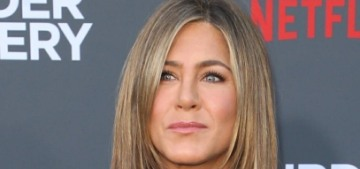 Jennifer Aniston 'genuinely happy' with work & she isn't looking for love right now