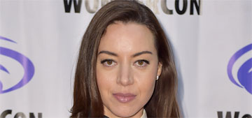 Aubrey Plaza is 'paranoid about all of these smart devices'