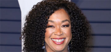 Shonda Rhimes: 'We've been in a society that's been male-led for a very long time'