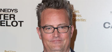 Matthew Perry says he's going to get a manicure after unflattering photos