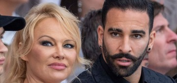 Pamela Anderson reveals split with her boyfriend of two years, Adil Rami