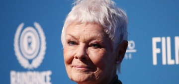 Judi Dench worries that we'll never watch another predator on-screen again