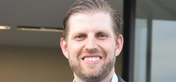 A Chicago woman was arrested for spitting on Eric Trump at a fancy bar