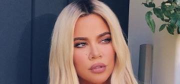 Khloe Kardashian keeps giving us fresh looks at her botched AF nose job