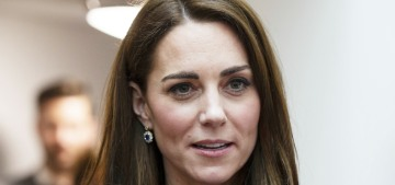 Oh, Duchess Kate altered Diana's sapphire earrings too, what about the 'history'??
