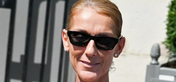 Celine Dion is back in Paris for fun fashion times, but where is her 'friend' Pepe?!?