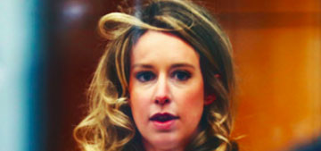 Elizabeth Holmes barrel curled her hair for her latest court appearance
