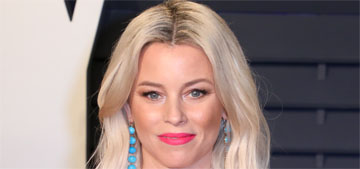 Elizabeth Banks: 'I have a very open policy about parenting on my set'
