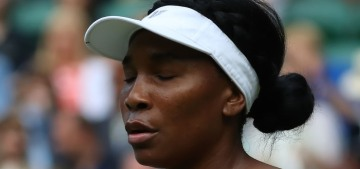 Venus Williams, 39, was beaten in the Wimbledon first round by a 15-year-old