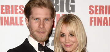 Kaley Cuoco's husband posted some awful photos of her for their anniversary