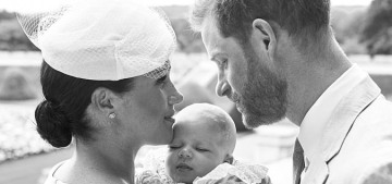 The Sussexes release two lovely portraits from Archie's Windsor christening