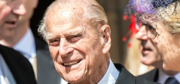 Prince Philip spends a lot of time with his 'old friend' Countess Mountbatten