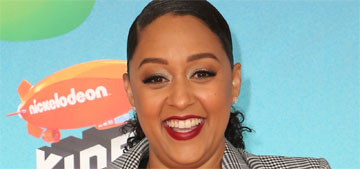 Tia Mowry's quickest beauty tip is rubbing ice on your face until it melts