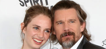 Ethan Hawke brags about daughter Maya, 20, on Stranger Things