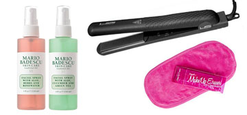 The bestselling hair straightener, refreshing facial spray and high combat boots