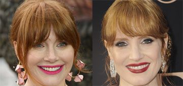 Jessica Chastain: Ron Howard thought I was his daughter Bryce Dallas Howard