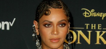 Beyonce & Blue Ivy wore Alexander McQueen to 'The Lion King' LA premiere