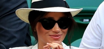 Duchess Meghan was a 'nightmare' at Wimbledon, except she really wasn't