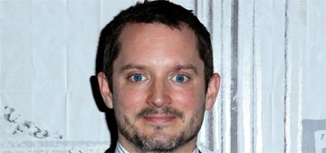 Elijah Wood photographed out with his pregnant girlfriend, is probably engaged