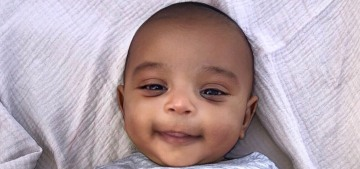 Kim Kardashian posts new photo of Psalm West on his two-month birthday