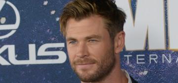 Chris Hemsworth's wife isn't happy when he uses her La Mer on his whole body
