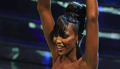 Naomi Campbell on Italy's version of Dancing with the Stars