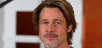 Is Brad Pitt wearing a toupee or some kind of hairpiece?  An investigation.