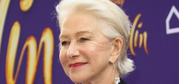 Helen Mirren on her current haircut: It's 'something I did with the kitchen scissors'