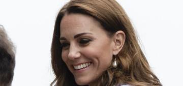 Duchess Kate wore Emilia Wickstead to the Wimbledon men's final