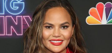 Chrissy Teigen knows she doesn't have a butt and is fine with that