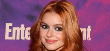 Ariel Winter loves mint chocolate chip ice cream because it is the best