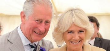 Duchess Camilla celebrated her 72nd birthday with a terrible cake & no liquor